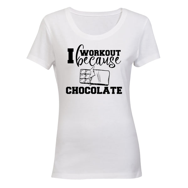 I Workout Because, Chocolate - BuyAbility South Africa