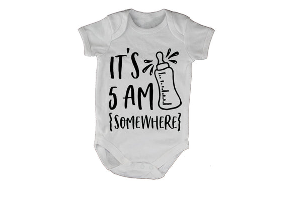 It's 5am Somewhere - Baby Grow - BuyAbility South Africa