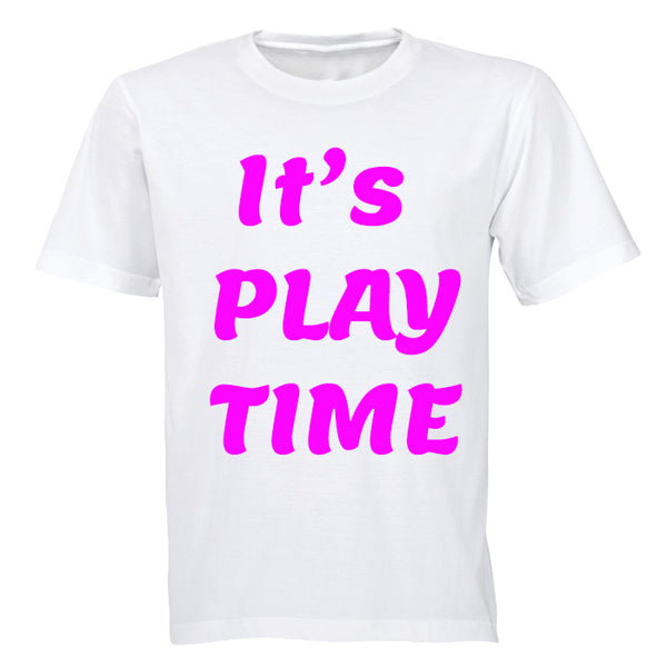 It's Play Time - Pink - Kids T-Shirt - BuyAbility South Africa