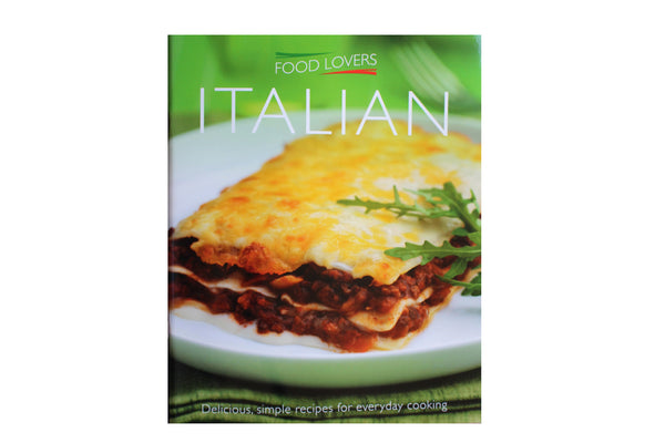 Italian, Food Lovers – 45 Recipes - BuyAbility South Africa