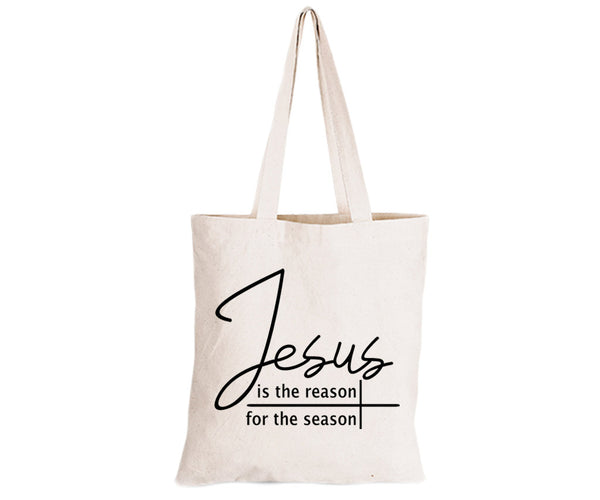 Jesus is the Reason - Eco-Cotton Natural Fibre Bag - BuyAbility South Africa