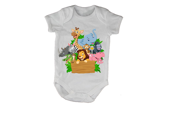 Jungle Friends - Baby Grow - BuyAbility South Africa
