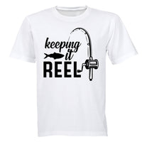 Keeping it Reel - Fishing - Kids T-Shirt - BuyAbility South Africa