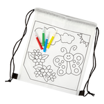 Kids Colouring In Drawstring Bag - BuyAbility South Africa