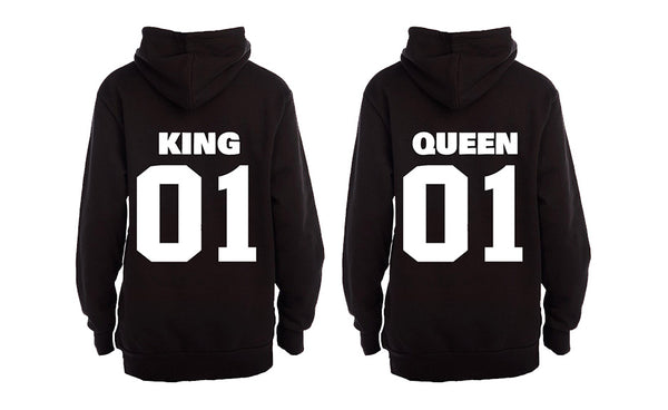 King and Queen 01 - COUPLES HOODIES (1 SET)