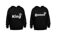 King and Queen - Couples Hoodies (1 Set) - BuyAbility South Africa