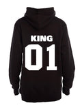 King 01! - Hoodie - BuyAbility South Africa
