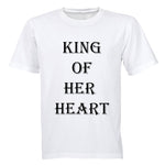 King of her Heart - Adults - T-Shirt