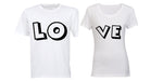 LOVE - Couples Tees
