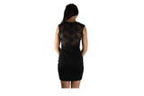 Black Cocktail Dress with Lace Back and Lace T-Front - BuyAbility South Africa