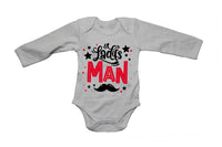 Ladies Man, Mustache - Valentine - Baby Grow - BuyAbility South Africa
