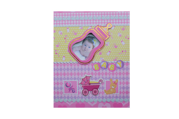 Pink Baby Bottle, Baby Photo Album - BuyAbility South Africa