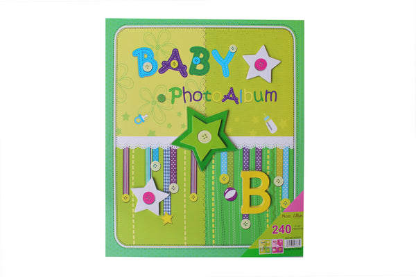 Green Baby Photo Album - BuyAbility South Africa