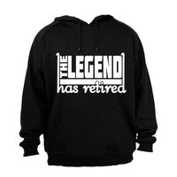 Legend Has Retired - Hoodie - BuyAbility South Africa