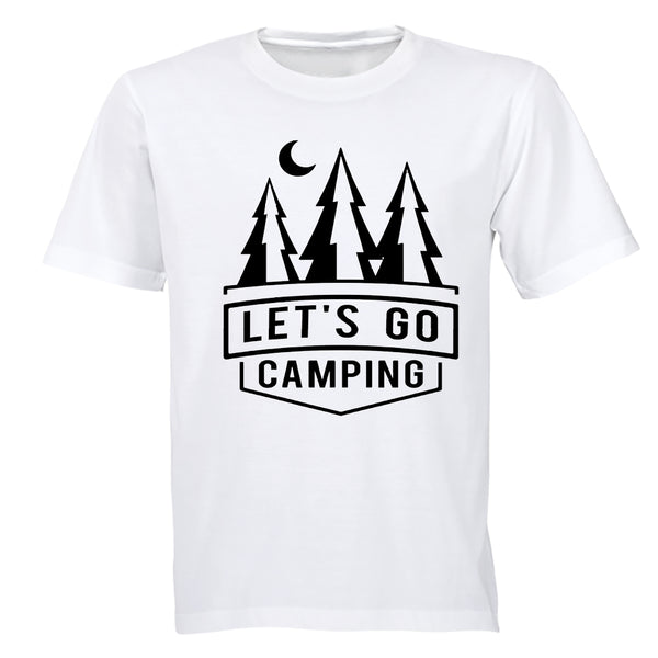Let's Go Camping - Kids T-Shirt - BuyAbility South Africa