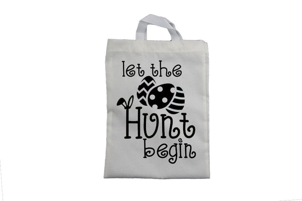 Let the Hunt Begin - Easter Bag