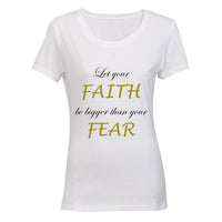 Let your Faith be bigger than your Fear BuyAbility SA