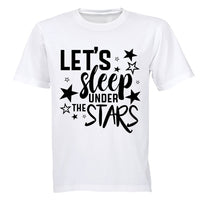 Let's Sleep under the Stars - Kids T-Shirt - BuyAbility South Africa