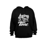 Losing my mind one kid at a time! - Hoodie - BuyAbility South Africa