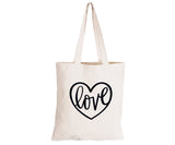 Love - Eco-Cotton Natural Fibre Bag - BuyAbility South Africa