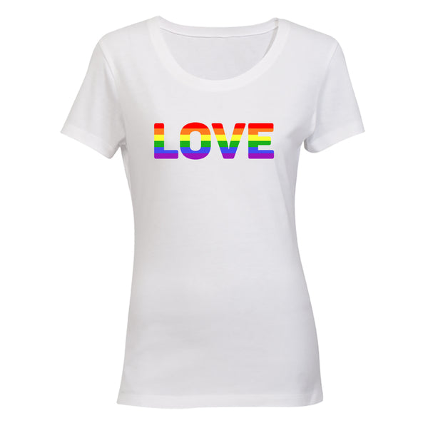 Love, Pride - Ladies - T-Shirt - BuyAbility South Africa