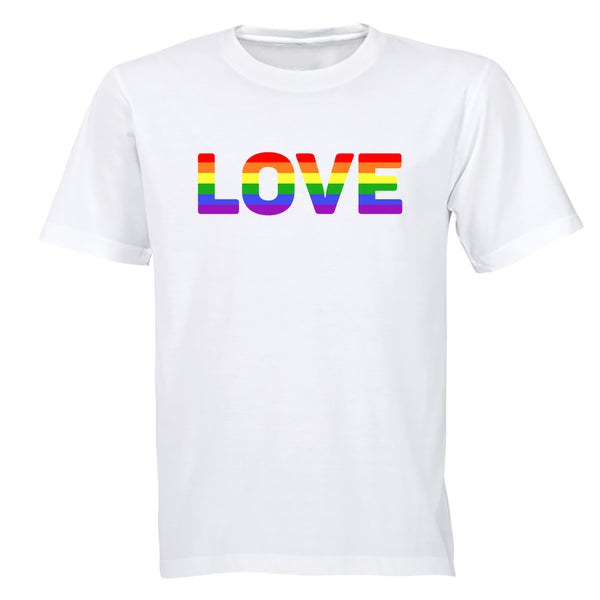 Love, Pride - Adults - T-Shirt - BuyAbility South Africa