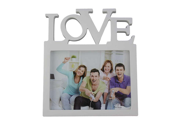 'LOVE' Single Photo - Photo Frame, White - BuyAbility South Africa