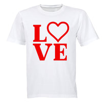 Love, Valentine Heart - Kids T-Shirt - BuyAbility South Africa