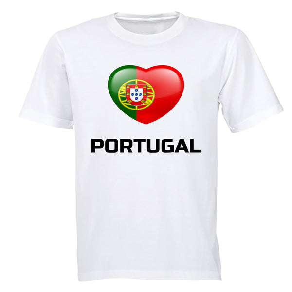 Love Portugal - Adults - T-Shirt - BuyAbility South Africa