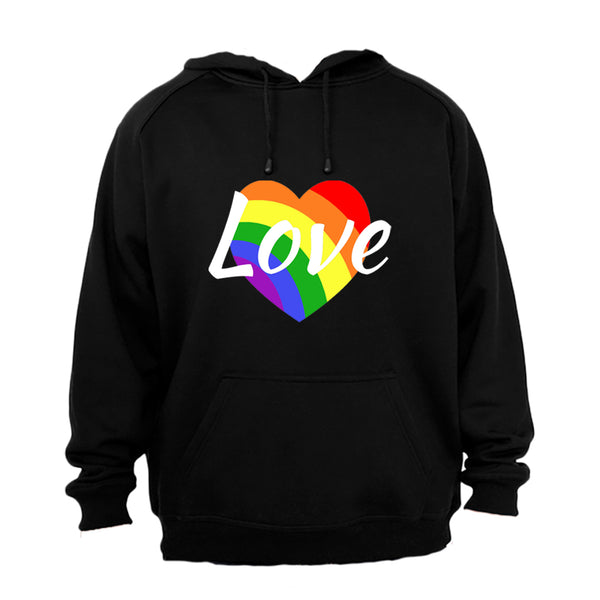 Love Heart, Pride - Hoodie - BuyAbility South Africa