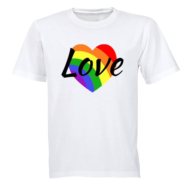 Love Heart, Pride - Adults - T-Shirt - BuyAbility South Africa