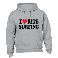 Love Kite Surfing - Hoodie - BuyAbility South Africa