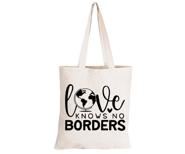 Love Knows No Borders - Eco-Cotton Natural Fibre Bag - BuyAbility South Africa