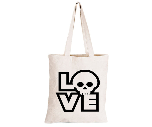 Love Skull - Eco-Cotton Natural Fibre Bag - BuyAbility South Africa