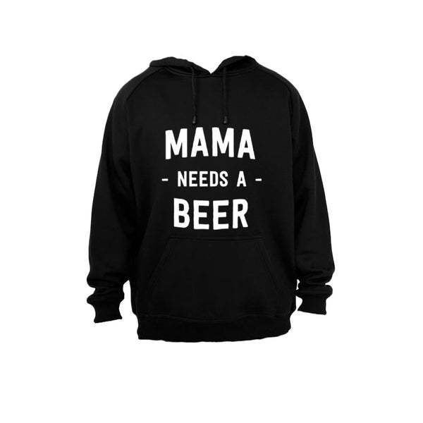 Mama needs a Beer! - Hoodie - BuyAbility South Africa