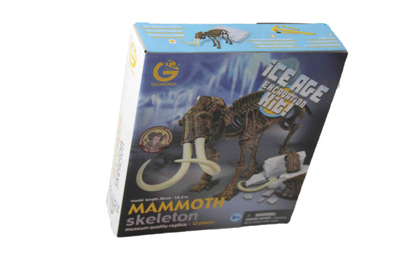Mammoth Skeleton Ice Age Excavation Kit