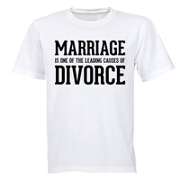 Marriage: Leading Cause for Divorce - Adults - T-Shirt - BuyAbility South Africa