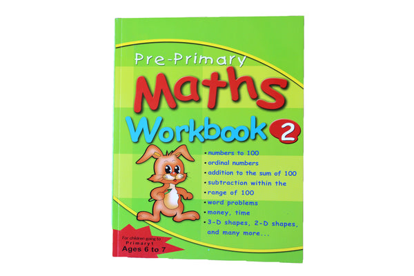 Pre-Primary Maths Workbook 2 (Ages 6-7) - BuyAbility South Africa