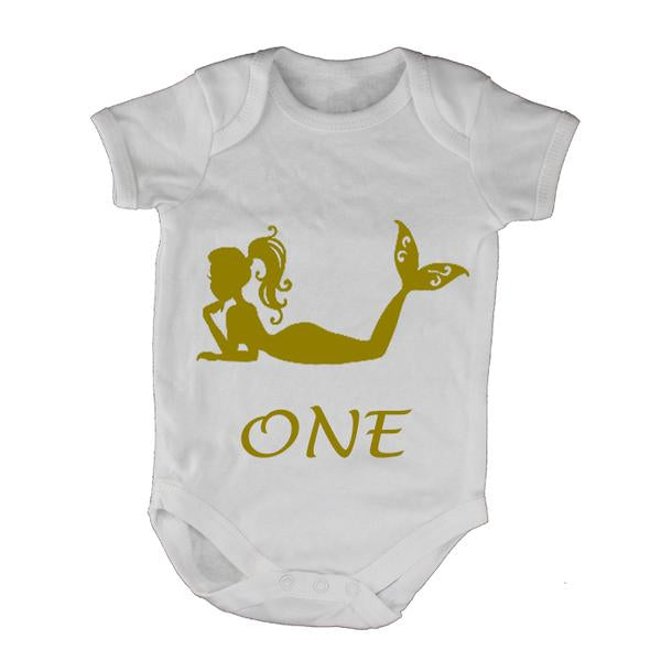 Mermaid - One - Babygrow!