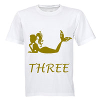 Mermaid - THREE - Kids T-Shirt - BuyAbility South Africa