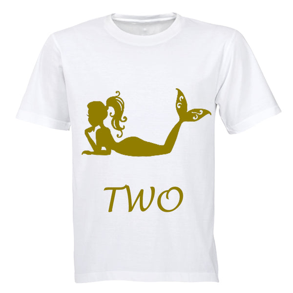 Mermaid - TWO - Kids T-Shirt - BuyAbility South Africa