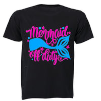 Mermaid off Duty! - Kids T-Shirt - BuyAbility South Africa