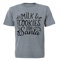 Milk and Cookies for Santa - Christmas - Kids T-Shirt - BuyAbility South Africa