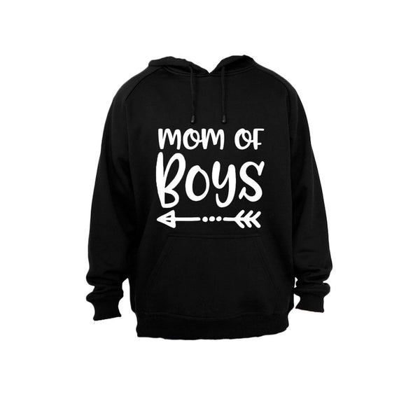 Mom of Boys - Hoodie - BuyAbility South Africa