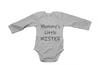 Mommy's little Mister
