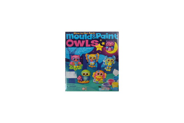 Glow In The Dark Mould Paint Owls Arts Crafts