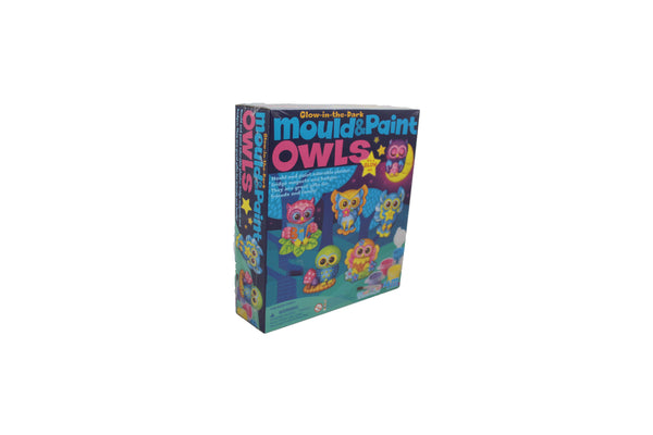 Glow In The Dark Mould Paint Owls