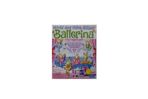 Mould and Paint Glitter Ballerina