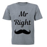 Mr Right. - Adults - T-Shirt