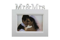 Mr & Mrs, White Photo Frame - BuyAbility South Africa